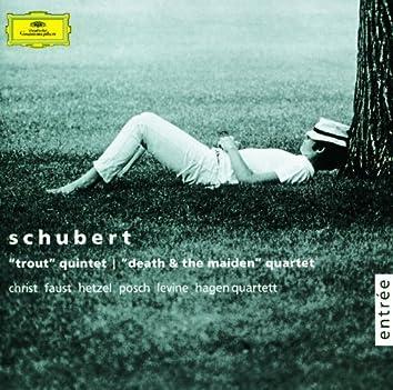 シューベルト:ピアノ五重奏曲《ます》、弦楽四重奏曲第14番《死と乙女》