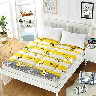 JY&WIN - Colchón de futón japonés, acolchado para dormitorio de estudiantes, colchón, colchón, cama de matrimonio portátil, cama de acampada, cama extragrande