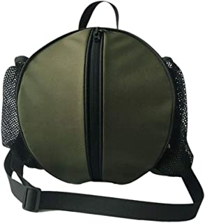 LIOOBO Sport Basketball Shoulder Bag Football Volleyball Carrying Bag Single Ball Crossbody Bag for Ourdoor