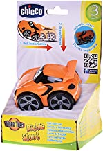 Chicco Richie Stunt Pull-Back Toy Car in Orange