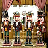 MZTYX Us British Nutcracker Music Box Decoration Puppet Soldier King Room Creative Home Living Room Wine Cabinet Small Decoration-D24-SQ-0002-A