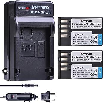 D-Li109 DLi109 D-L1109 DL1109 Cargador De Batería Para Pentax K-70 K-500 KP K-r K-50