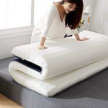 Latex Memory Foam Mattress,Japanese Futon Tatami Mat,Student Dormitory Foldable Sponge Mattress,Breathable Comfortable-Thi...