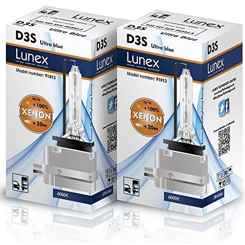 Lunex D3S Xenarc Phare Lampe au xénon ampoule de rechange (6000K)