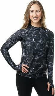Womens Rash Guard Long Sleeve Swim Shirt UPF 50+ Rashguard for Women