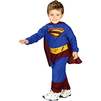 Superman Preescolar Disfraz de Niño Carnaval: Amazon.es: Juguetes ...