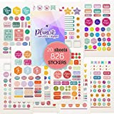 Planner Stickers - Value Pack 20 Sheets/826 Planner Stickers and Accessories for Adults | Any Activity, Happy Event or Holiday in Your Calendar, Journal, Agenda in 2020 & 2021… (Standard)