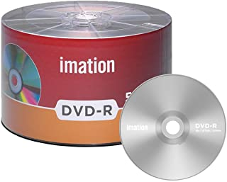 50 Pack Imation DVD-R 16X 4.7GB/120Min Logo Blank Media Recordable Movie Data Disc