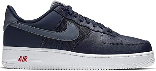 Nike AIR AIR AIR Force 1 '07 LV8   Bleu Marine 14e
