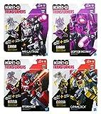 Hasbro Kre-O Transformers Kreon Battle Changers 4 Pack: Megatron, Decepticon Shockwave, Ironhide & Grimlock