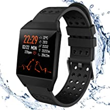 Fitness Tracker HR,Smart Watch Activity Tracker with Pedometer Step Calorie Counter Sleep Monitor For Android & iOS Waterp...