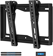 Mounting Dream TV Wall Mount - Tilting TV Bracket for Most 17-42 Inch LED, LCD and Plasma TVs, TV Mount up to Vesa 200 x 200mm and 44 Lbs Loading Capacity, with Bubble Level and Cable Ties MD2268-S