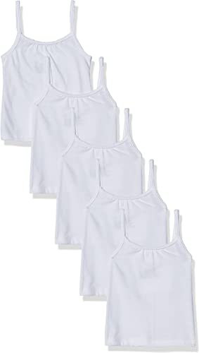 Hanes Girls' Toddler 5-Pack Cotton Cami (Assorted)