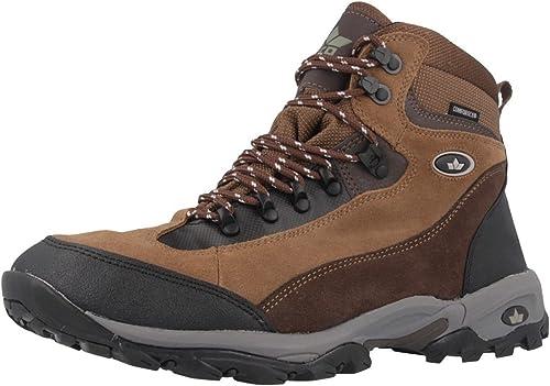 Lico Milan pour Homme Marron trekkingbottes Chaussures Matelas Grande Taille