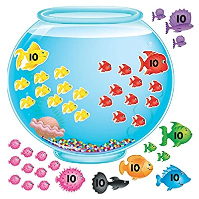 TREND enterprises, Inc. T-8086 100-Day Fishbowl Bulletin Board Set