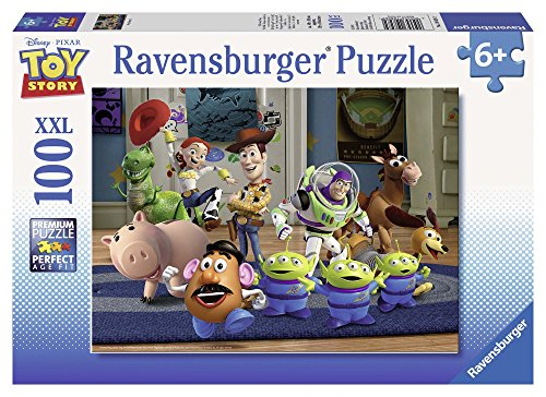 Ravensburger - 10828 - Puzzle Enfant Classique - Toy Story 3 - 100 Pièces XXL