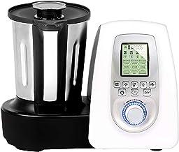 GRIDINLUX. Robot de cocina Multifunciones. 10 Velocidades, Jarra de Acero Inoxidable, 19 Programas, Seguridad MaxControl, Accesorios y Recetario, Cocina Chef Memory