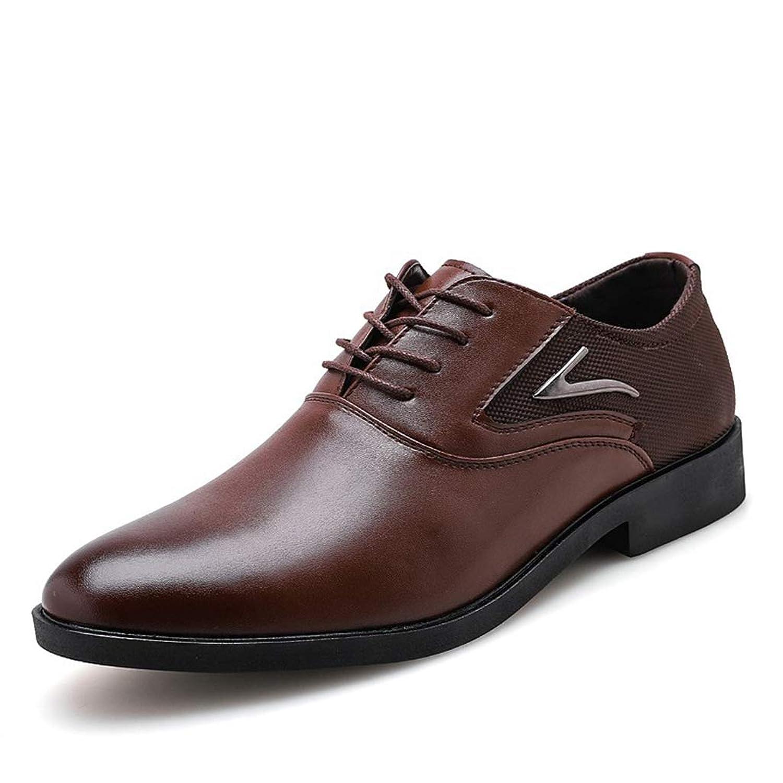[ランボ] 走れる ビジネスシューズ ラウンドトゥ レースアップ 紐靴 痛くない カジュアルシューズ ビジネス フォーマル 冠婚葬祭 オフィス スーツ 仕事用 メンズ シューズ 27cm ブラック ブラウン