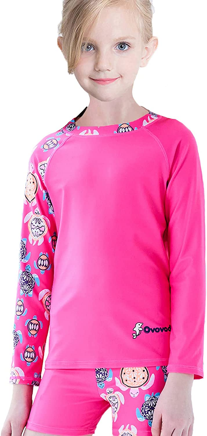 FAFSGOD Manufacturer direct delivery Girls Swimsuit Long Sleeve Dealing full price reduction Bathing Suit Kids 50+ UPF UV