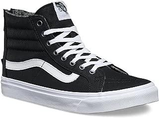 Vans Sk8-Hi Slim Zip Tweed Dots Black/True White 3.5 Mens/5 Womens