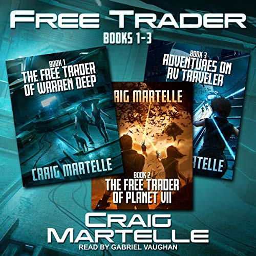 Free Trader Box Set, Book 1-3 audiobook cover art