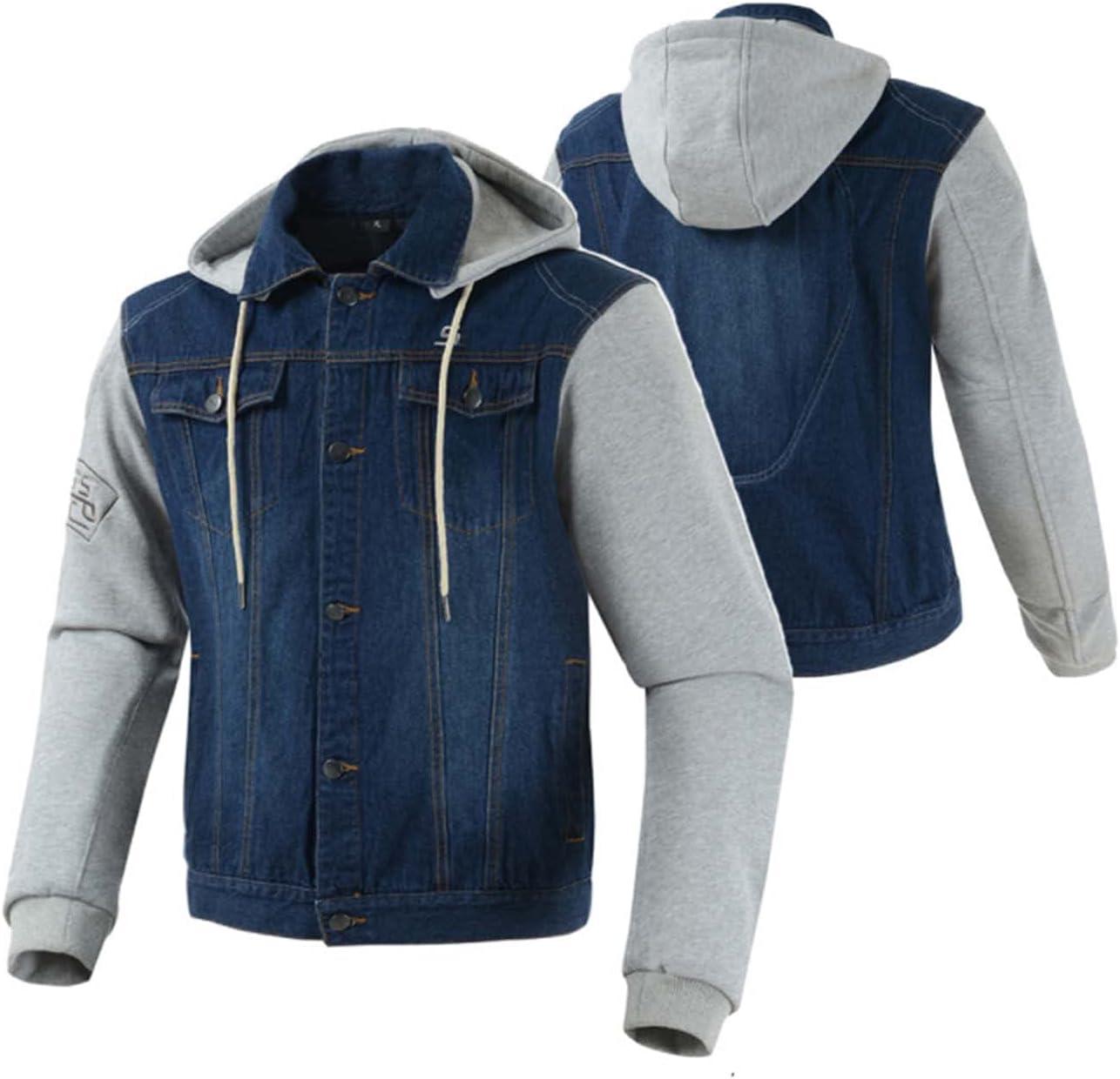 CCCYT Motorcycle Motorbike Protective San Jose Mall Jacket Armoured Regular discount Mu Textile