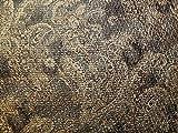 Beschichteter Tweed-Kleiderstoff, Meterware, Braun