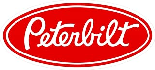 SBW Large Peterbilt Sticker Decal in Red