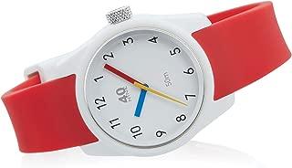 40N3.9LR 40NINE Primary 35MM Watch, Red Strap