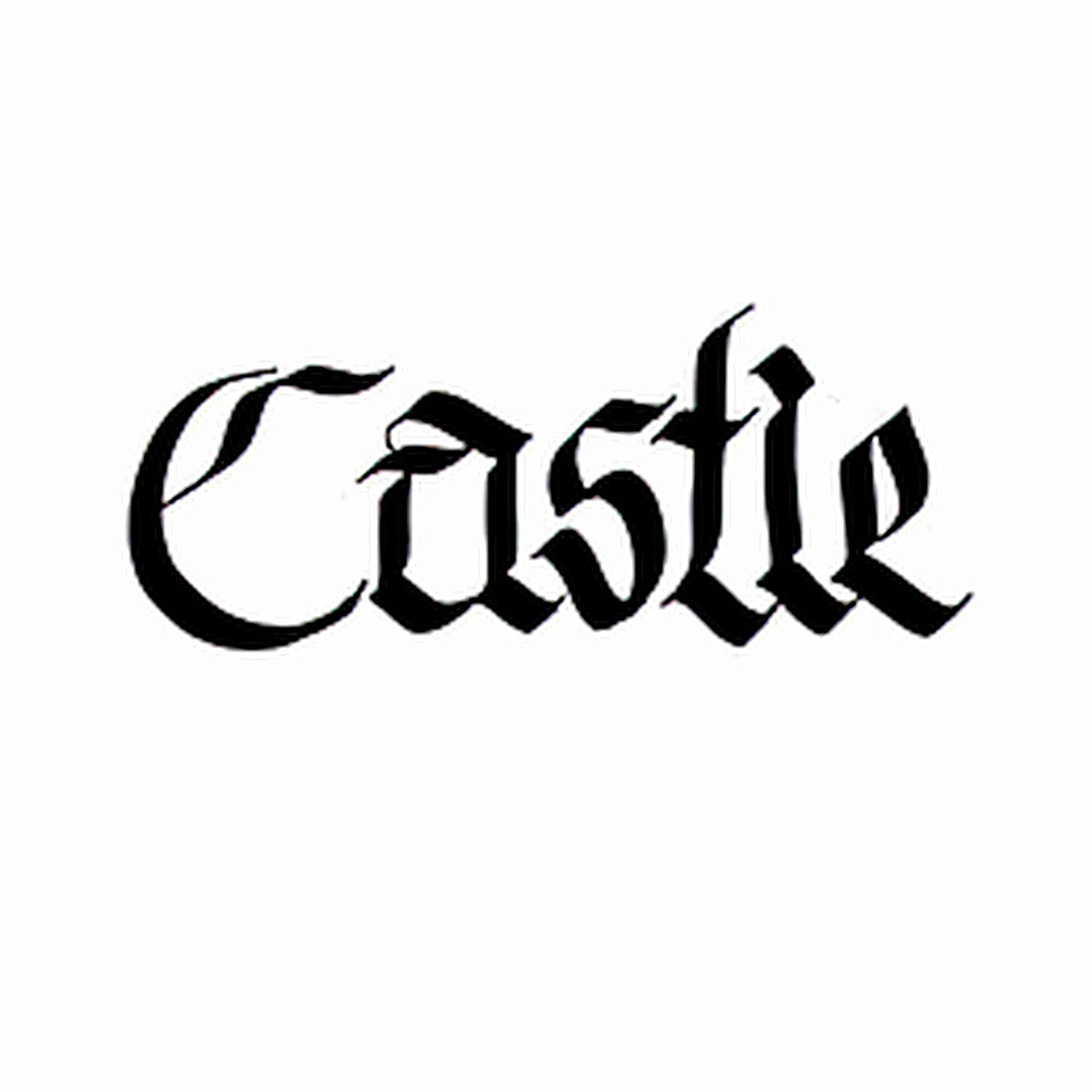 Temporary Max 75% OFF Tattoos Choice 6 Sheets Castle Sign Gothic Hand Ink Ca Modern