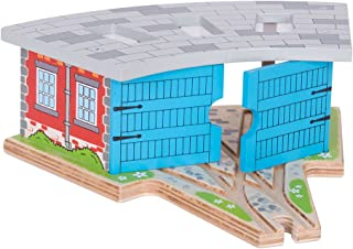 bigjigs engine shed