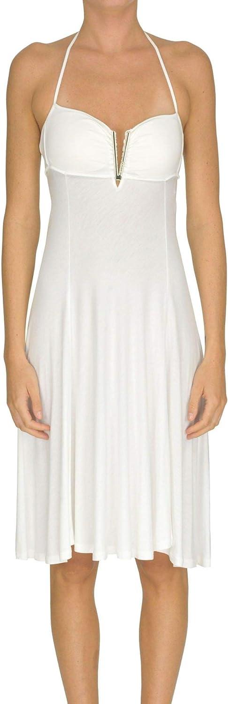 TwinSet Women's MCGLVS0000005160E White Viscose Dress