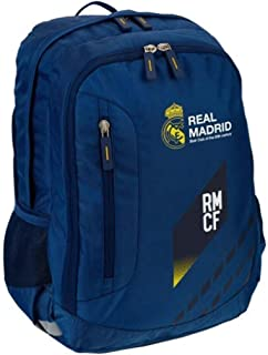 Mochila Grande Real Madrid 44x18x30 cm.