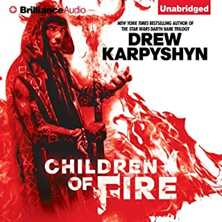 Children of Fire audiobook cover art