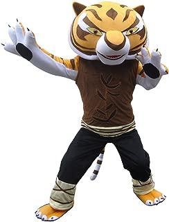 Tigress Tiger Of Kung Fu Panda Adult Mascot Costume Cosplay Fancy Dress