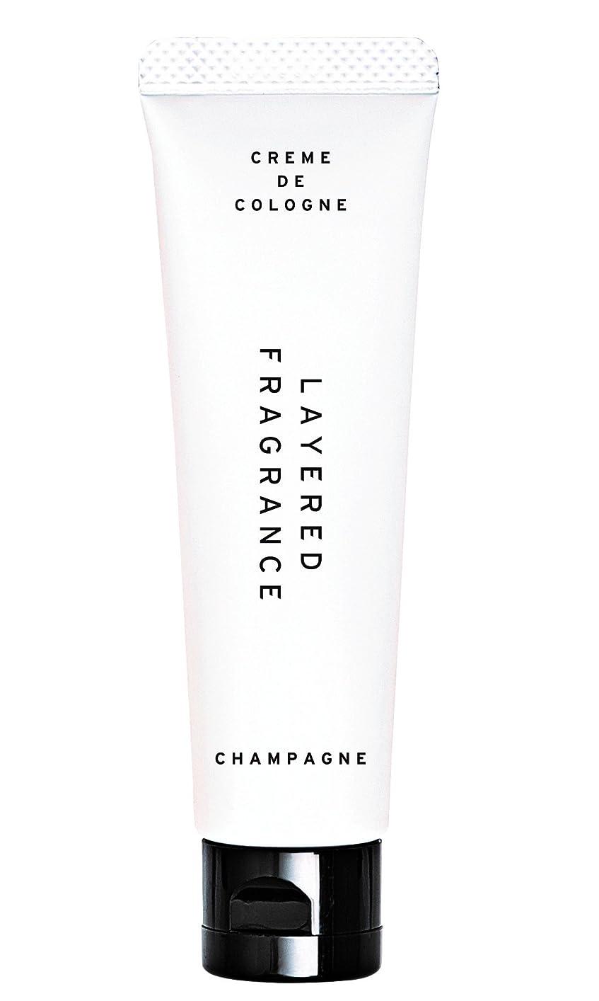 印象残りベッドを作るレイヤードフレグランス クレムドゥコロン シャンパン 30g 練り香水