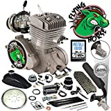 Best Bicycle Engine Kits - Flying Horse 66/80cc EPA Approved Silver Angle Fire Review