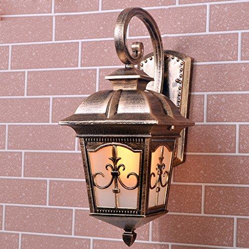 Eglo OUTDOOR Victorien Traditionnel mur lanterne 240 V jardin sécurité Down Light