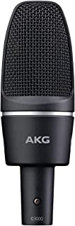 AKG Pro Audio C3000 High-Performance Large-Diaphragm Condenser Microphone
