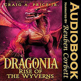 Dragonia: Rise of the Wyverns audiobook cover art