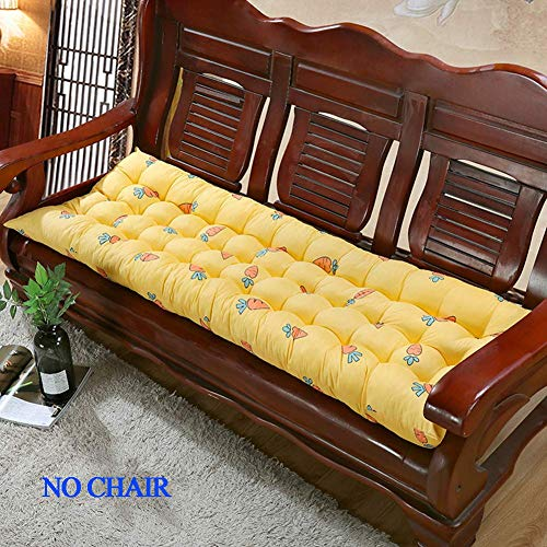 DBXD Bench Cushion Garden 2 Or 13 Seater Chair Mat Thick Seat Cushion Chaise Swing Cushion Outdoor Indoor Long Bench Pillow for Garden Patio Indoor Outdoor