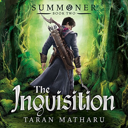The Inquisition: Book 2 (Summoner) audiobook cover art