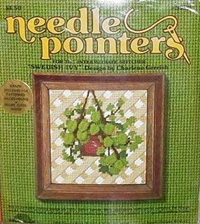 Swedish Ivy - Sunset Designs Needlepoint Canvas Kit #5332