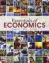 Essentials of Economics 3rd edition by Krugman, Paul, Wells, Robin, Graddy, Kathryn (2013) Paperback