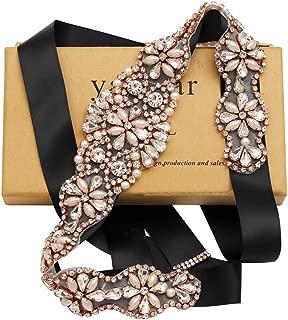 Handmade Rhinestone belt Wedding Bridal Belt Sashes For Bridesmaid Dress…