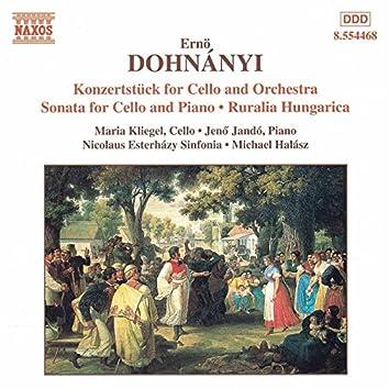 Dohnanyi: Konzertstuck for Cello / Cello Sonata / Ruralia Hungarica
