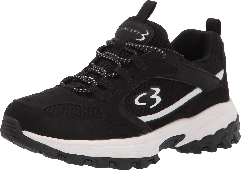 Concept 3 by Skechers Women's Modern Combo Sneaker