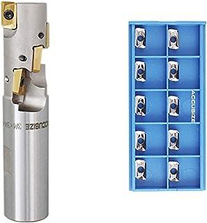 Diameter x 3//4 Shank x 1 LOC x 7 OAL Alu-Power Neck H-37 3 Flute High Performance Carbide Corner Radius End Mill 3//4 YG1 E5G98965 R 0.09