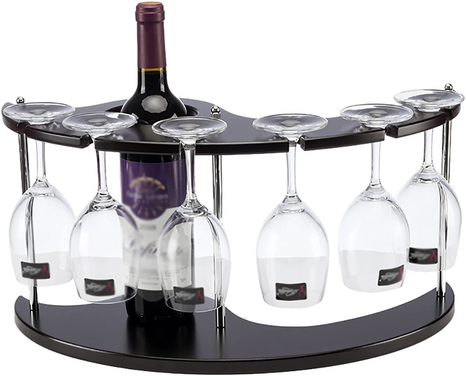 Continental Removable MDF Wine Rack Wine Glass Holder Household Items