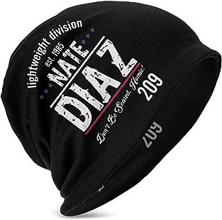 Myzly Nate Diaz Children's Fashion Knit Hat, Beanie Hat, Warm Hat Black